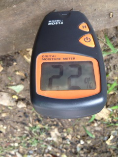 MM04-เครื่องวัดความชื้นไม้ และวัสดุ (Digital 4 Pins Moisture Meter) 5-40